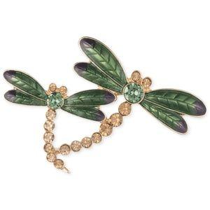 Anne Klein Dragonfly Pin Brooch